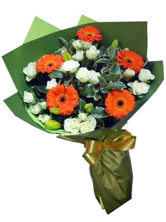 gerberas, roses,lilies
