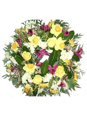 Sympathy Funeral Wreath