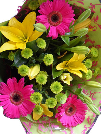 Beautiful Bright Flower Bouquet