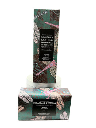 hand cream body bar vanilla