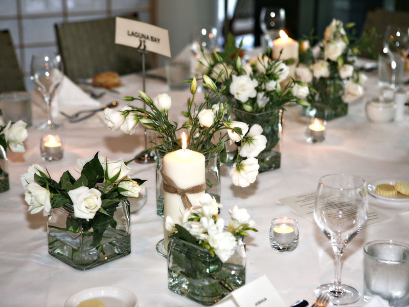 Wedding Table Arrangements Box Hill Florist
