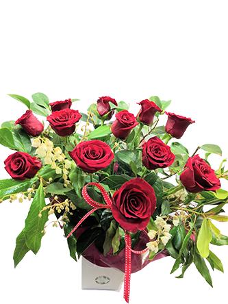 be my valentine flower arrangement